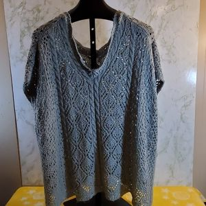 Sonoma Poncho Sweater